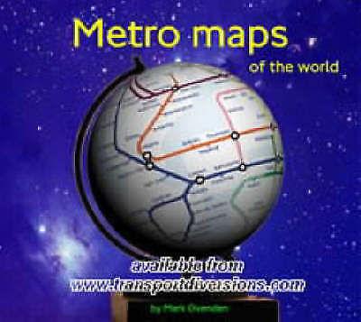 Metro Maps of the World (World Maps), Acceptable, Mark Ovenden, Book