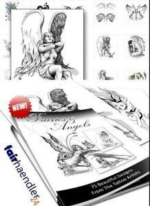 DOWNLOAD-Elfen-und-Engel-Tattoos-Fairies-and-Angels-Tattoo-Vorlagen-eBOOK-NEU