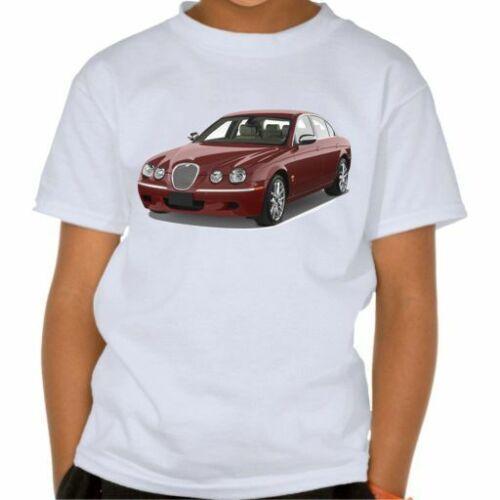 Jaguar S-TYPE 2008 t-shirt kids clothes toddler boy UNISEX men shirt jaguar car