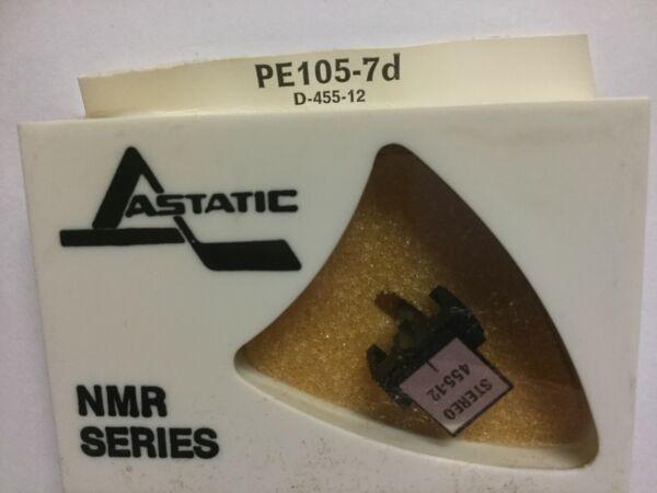 Perpetuum-ebner D-455-12 Phono Needle In Astatic Pe105-7d Pkg., Nos