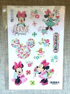 Mickey-Minnie-Mouse-NEW-WALL-STICKER-DECAL-NURSERY-KIDS-GIRLS-ROOM