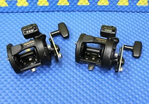 Okuma-Magda-MA-30D-Line-Counter-Trolling-Reel-with-Star-Drag-2-PACK