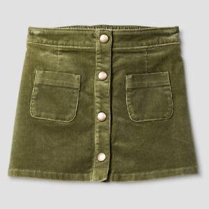 Girls' Clothing (newborn-5t) Amiable Toddler Infant Girls' Pioneer Sage Green Mini Skirt Oshkosh 12m 18m 3t 6 6x