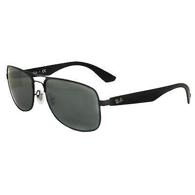 Ray-Ban Sunglasses 3524 006/6G Black Grey Mirror