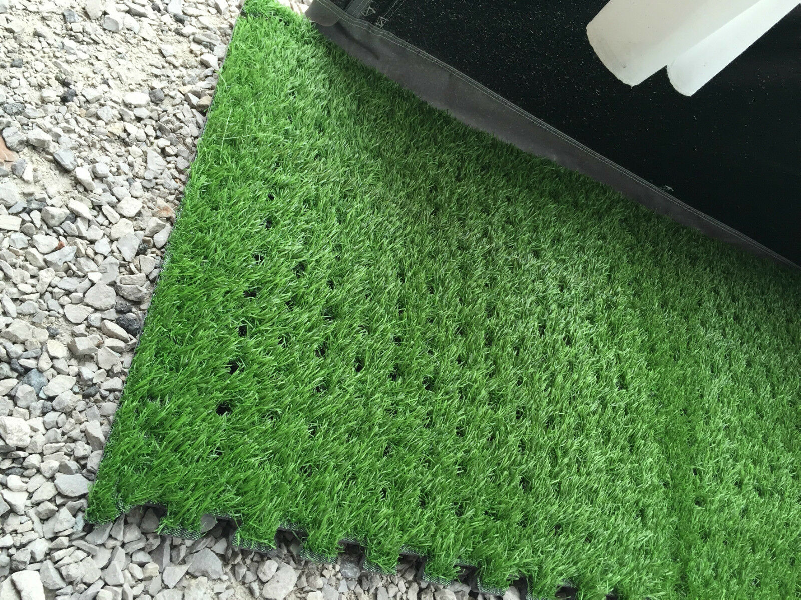 Real Look Green Grass Padded Eva Floor Mat Carpet Tiles for Awning Tent Marquee