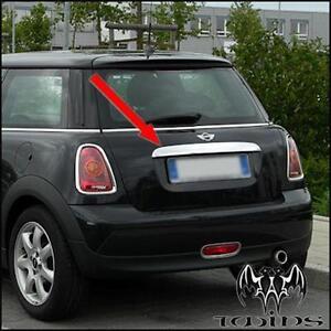 Copri Maniglia Cromata Portellone Baule Bagagliaio Mini R56 2006