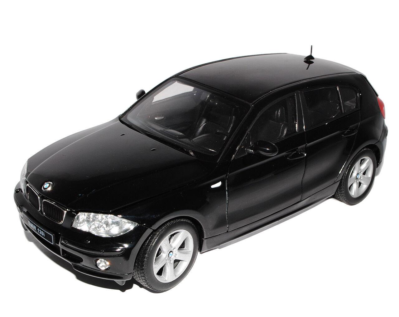 BMW 1er E87 1. Generation 5 Türer noir 2004-2013 1 18 Welly Modell Auto mit..