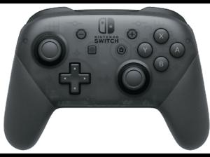 Mando - Nintendo Switch, Mando Pro-Controller, Cable USB, Vibración HD, Negro