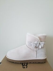 4170578e9e7 Details about Ugg Australia Womens Jackee Knot Sparkle Boots Size 6 NIB