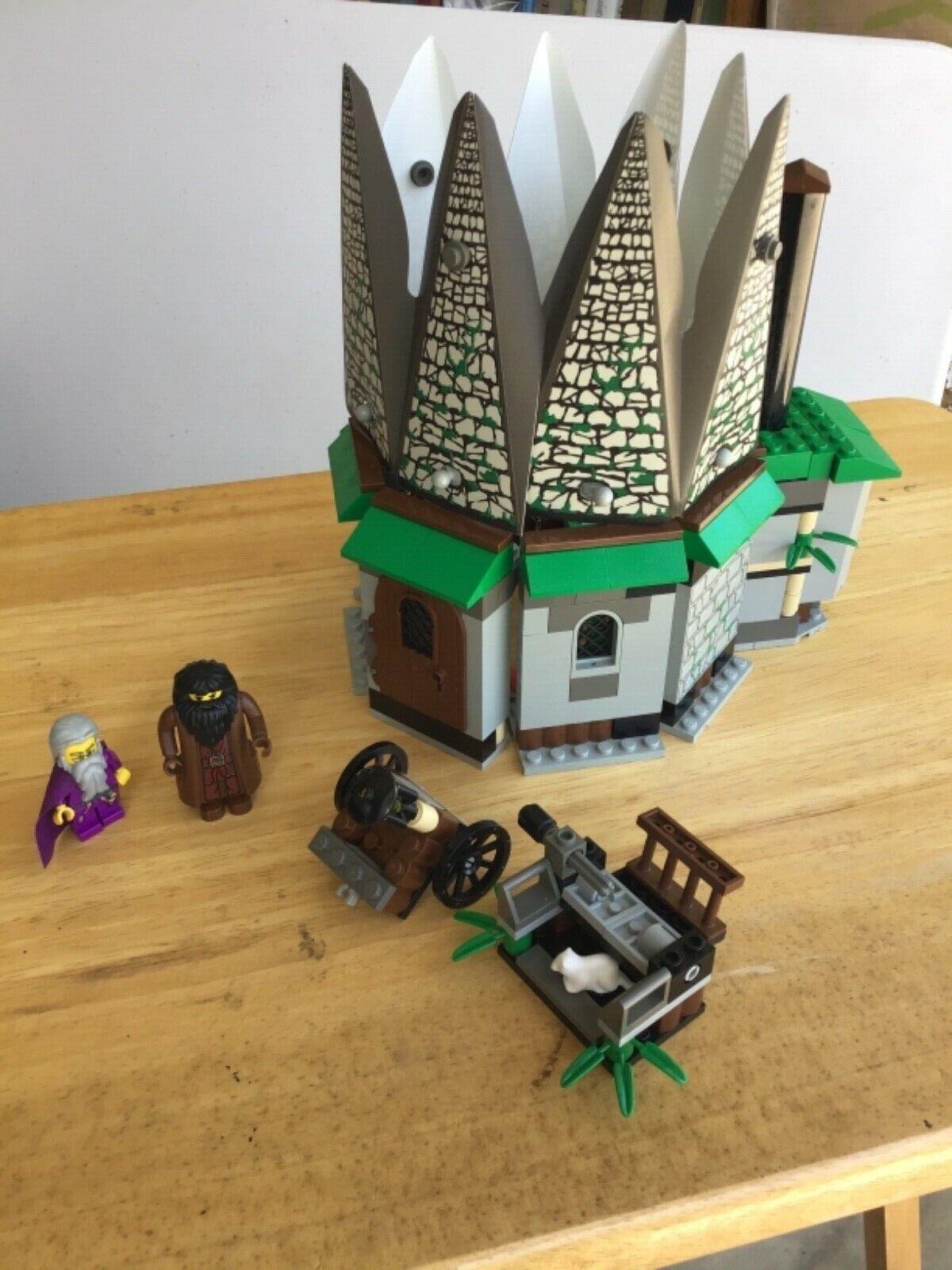 Lego 4707 Harry Potter Hagrid Hagrid Engrough 65533;s Hut, instruktioner tryckta från internet, ingen ruta