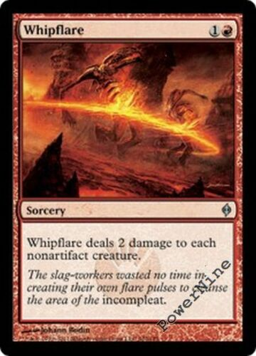 1 FOIL Whipflare Red New Phyrexia Mtg Magic Uncommon 1x x1