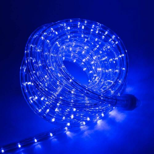 """Blue LED Rope Lights 1//2/"""" 2 Wire Simple Extendable Accent Party Decoration"""