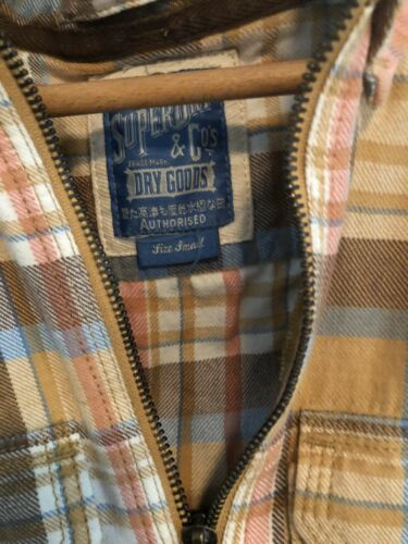 Super Dry & Cos Dry Goods Flannel Top Sm