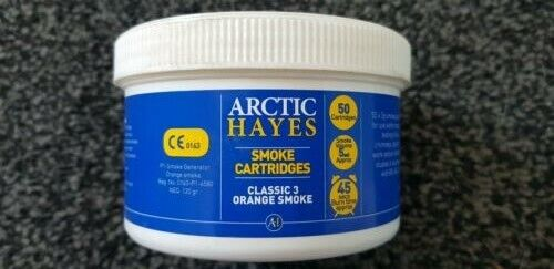 Classic 3 Orange Smoke 50 x 3g Hayes Smoke Cartridges