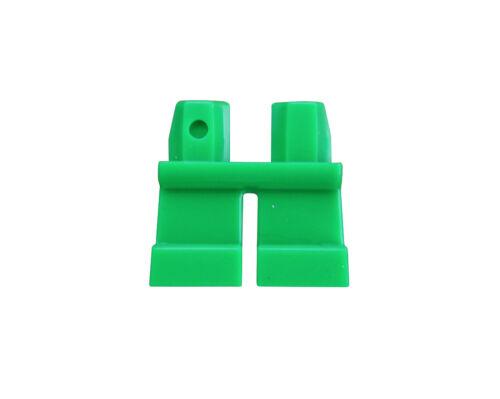 LEGO 2x breve Verde gambe//Pantaloni per statuine NUOVO SHORT green legs