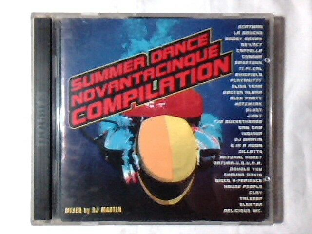 2CD Summer dance 95 compilation DATURA USURA NETZWERK PLAYAHITTY DOUBLE YOU CLAY