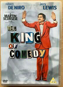The-King-Of-Comedia-DVD-1982-Obsessive-Acosador-Clasico-con-Robert-de-Niro