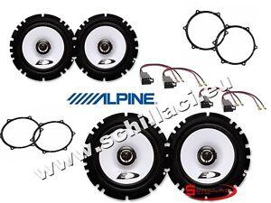 Kit-4-casse-per-Seat-Ibiza-Alpine-con-adattatori-e-supporti