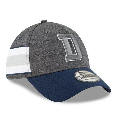 New Era 39Thirty Cap Sideline Graphite Dallas Cowboys