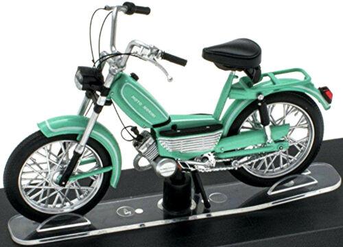 Moto Morini Dollaro 50 cc 1972 Moped Motorrad türkis 1:18 Atlas