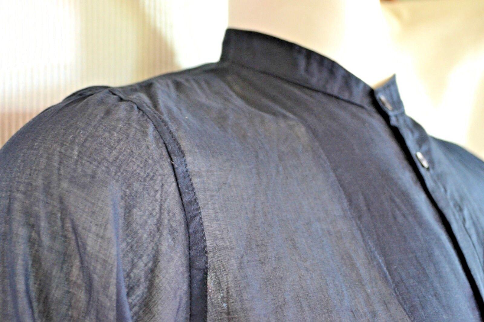 PRADA Herren Hemd men shirt chemise L 41 neu  NEW transparent Stehragen blau
