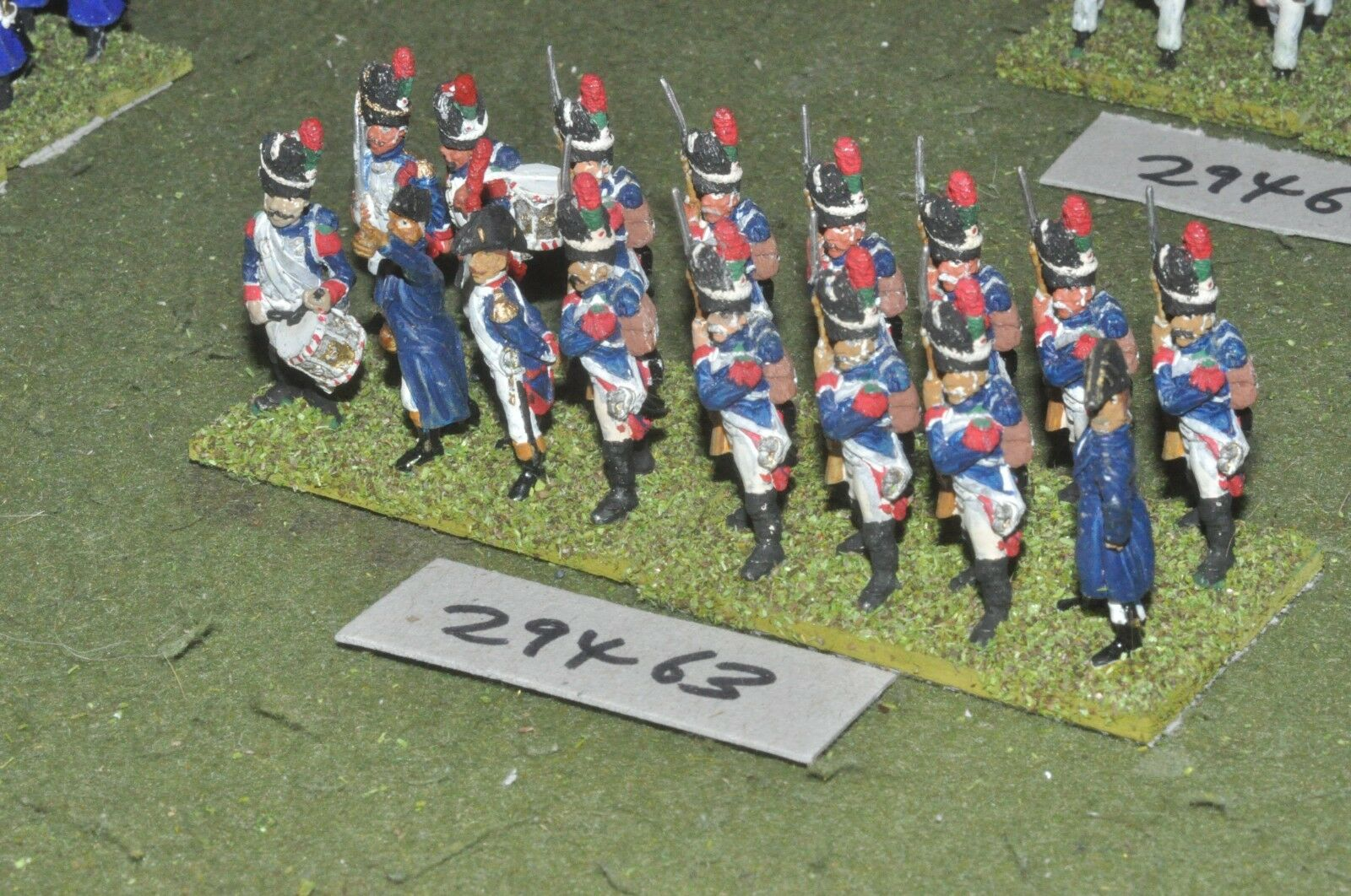 25mm napoleonic   french - guard grenadiers 16 figures - inf (29463)