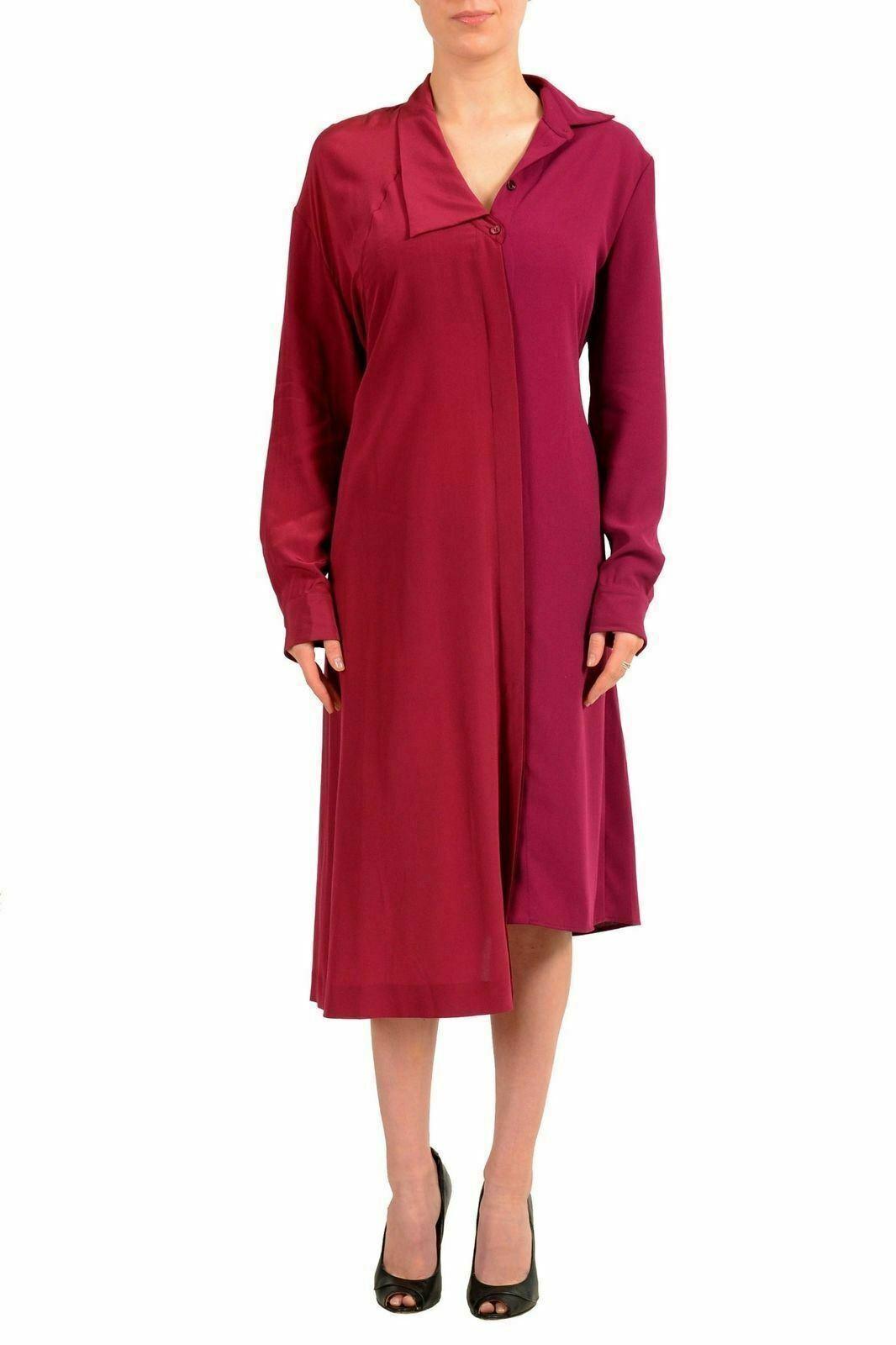 Maison Margiela 1 100% Seda Rojo Magenta Botones Camisa  de vestir nos M 42  descuento de bajo precio