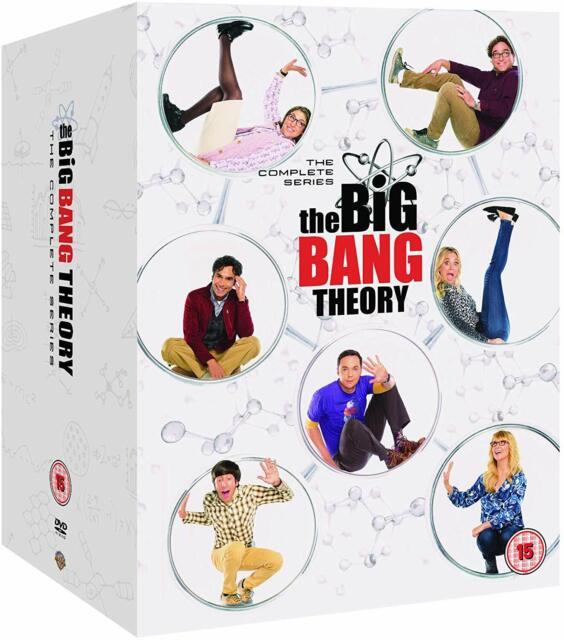 The BIG BANG THEORY Complete Series SEASON 1-12 DVD Boxset Region 4 New & Sealed