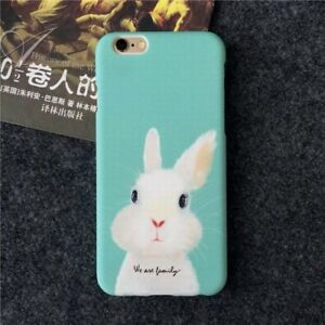 Cute-Baby-Bunny-Rabbit-Vegetarian-Vegan-Phone-Case-Cover-For-All-iPhone-Models