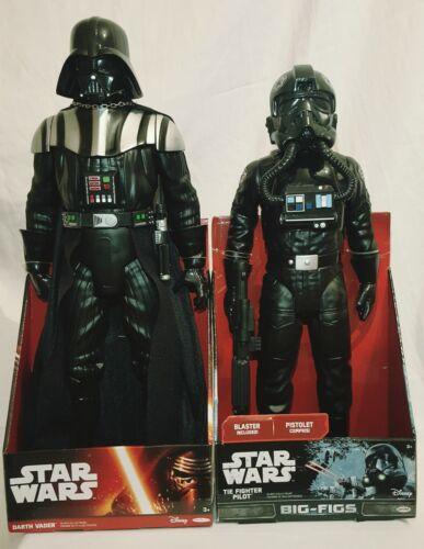 environ 45.72 cm Dark Vador /& 18 IN 20 in TIE Fighter Pilot Elite Forces figures environ 50.80 cm Star Wars