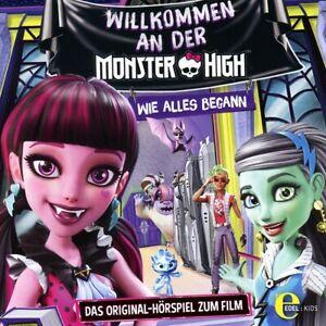 MONSTER-HIGH-WELCOME-TO-MONSTER-HIGH-ORIGINAL-HORSPIEL-ZUM-FILM-CD-NEW
