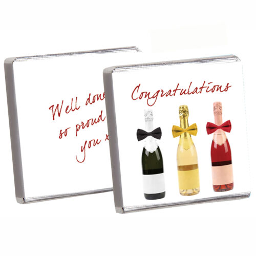 50 BEST PERSONALISED CHOCOLATE PARTY FAVOURS HUGE CHOICE BIRTHDAY /& ALL