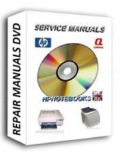 HP LaserJet Printer Service repair Manuals dvd LaserJet P2015 P2015n 4500 4550