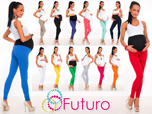 Full-Length-Maternity-Leggings-Pants-With-Pockets-High-Waist-Sizes-8-22-LCK