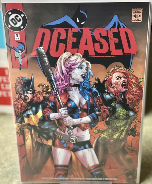 DCEASED #1 Secret Variant Cover Jay Anacleto Unknown Comics Exclusive *NM*
