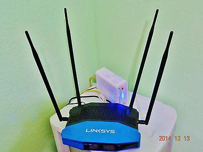20dBi WiFi Antenna Booster Long Range 2.4GHz - 5GHz 3 Antennas
