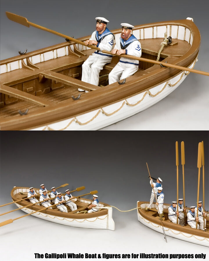 King and Country Oarsmen Rowing Set B, Gallipoli 1915 GA030(B)
