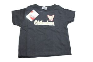 MiLB Youth El Paso Chihuahuas Baseball Shirt Soft As A Grape Black New NWT