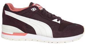 Puma Duplex Classic da donna con lacci scarpe Ginnastica Bordeaux 361428 05 U54