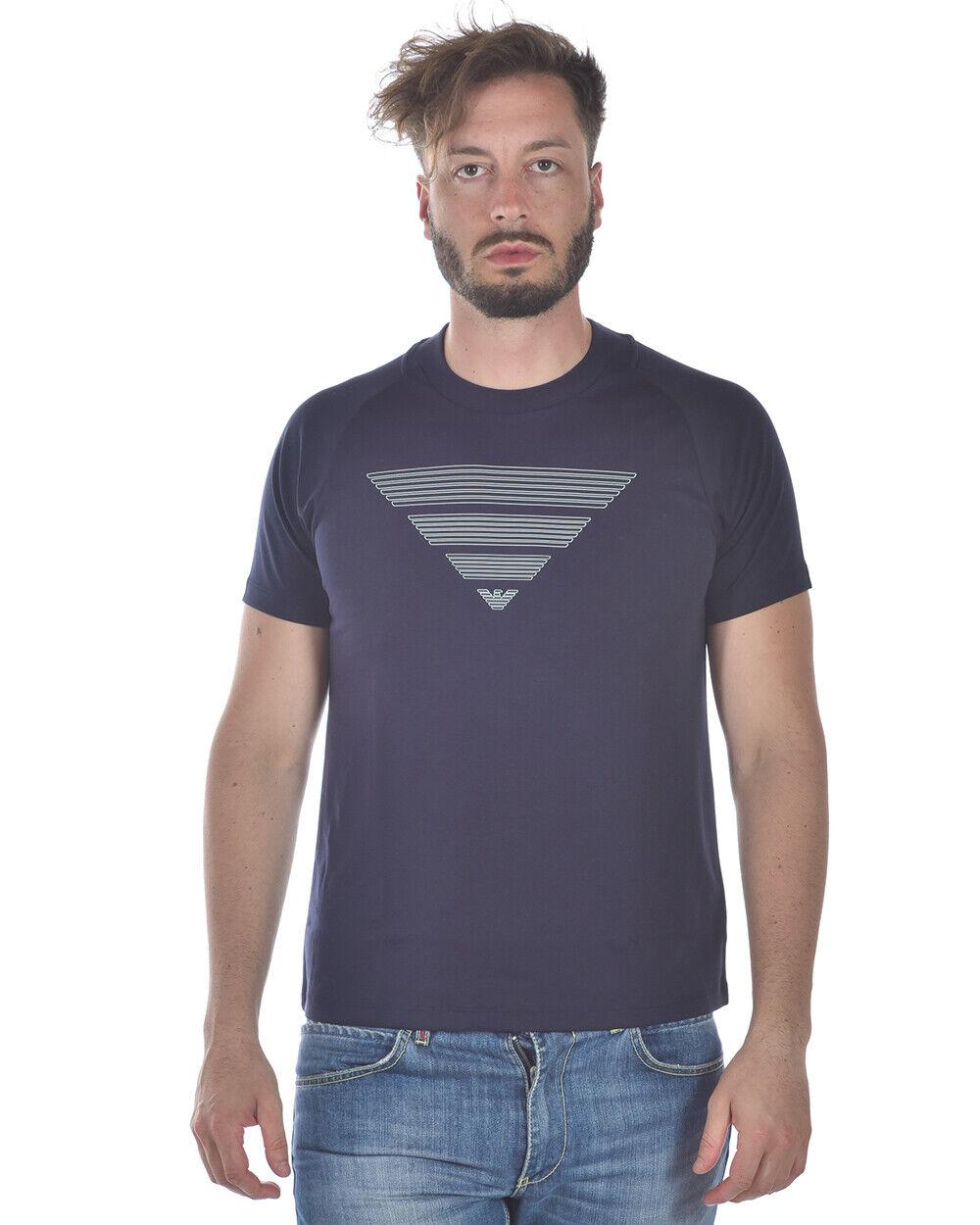 Emporio Armani T hemd schweißhemd Man Blau 3Z1T711JPRZ 922 Sz M MAKE OFFER