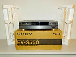 Sony EV-S550 High-End Vidoeo 8 Recorder in OVP w.NEU, NTSC, 2 Jahre Garantie
