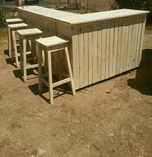 Bar stools,chairs and bar counter