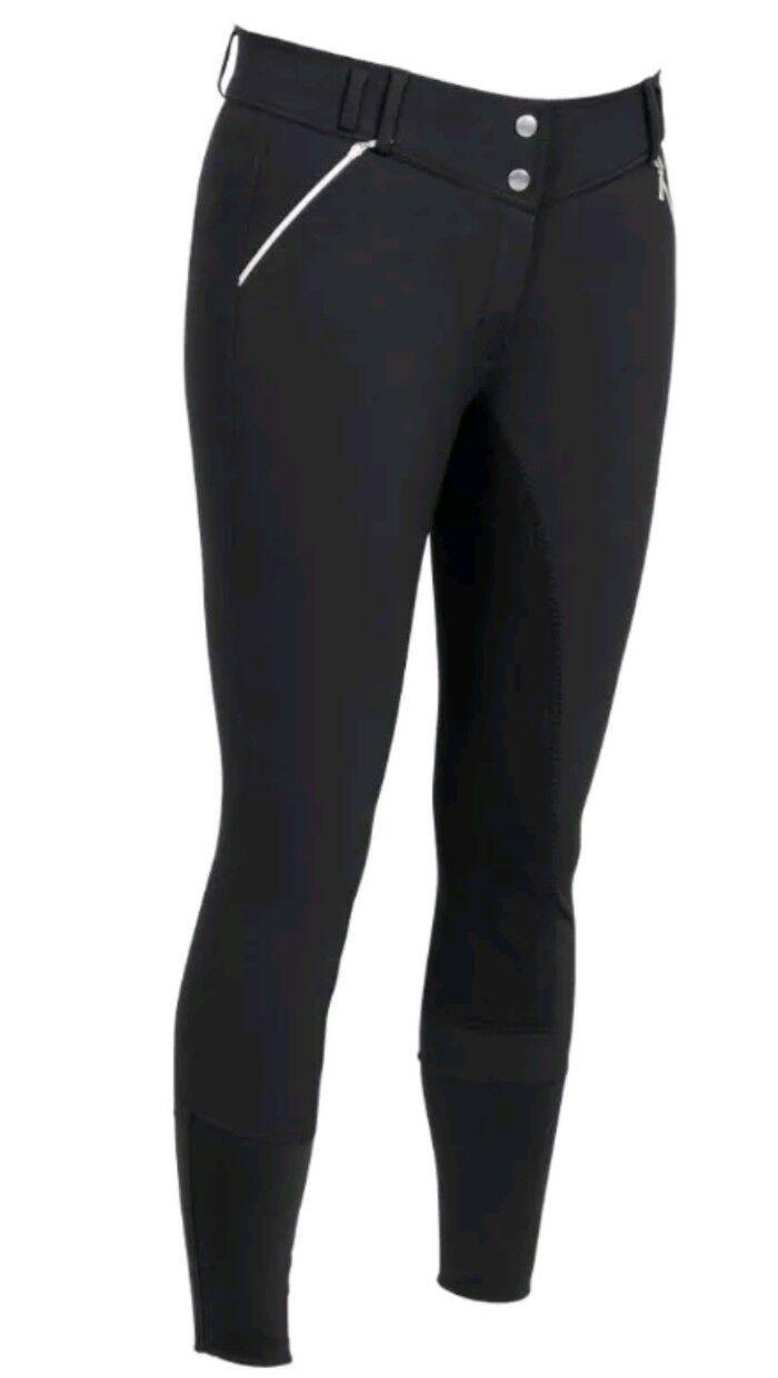 Pantaloni Equitazione A23  CRW completamente choded Trenton CRW Diga Taglia 42