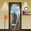 Waterproof-3D-Balcony-Peacock-Waterfall-Self-Adhesive-Door-Wrap-Mural-Sticker thumbnail 1