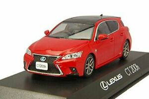 Lexus Ct F Sport >> Details About Kyosho Original 1 43 Lexus Ct 200h F Sport Black Mader Red Finished Product