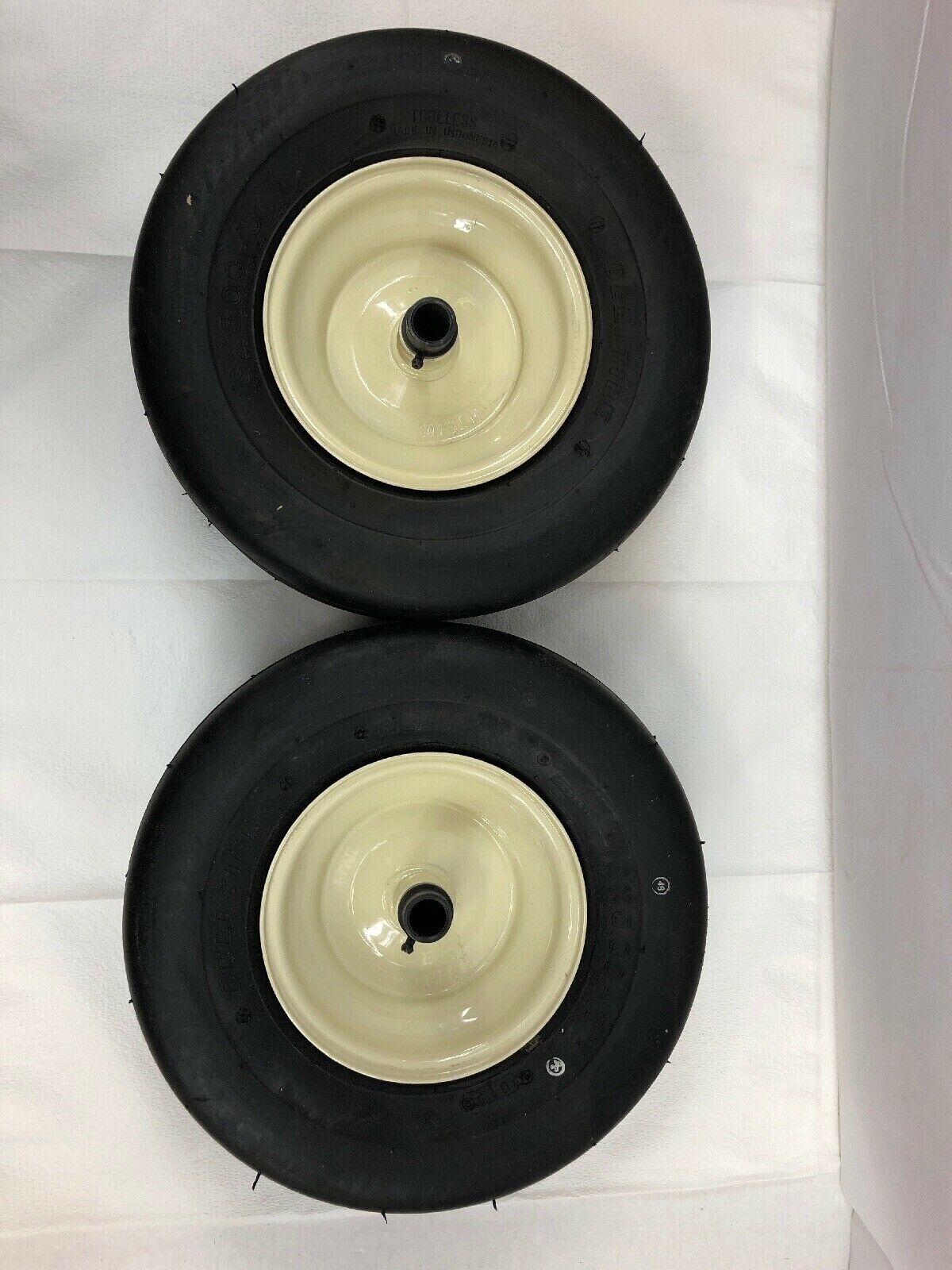 Pisada del neumático S-317 recta Costilla Delicatessen Cubierta tubeless con rueda 13X5-6 Lote de 2