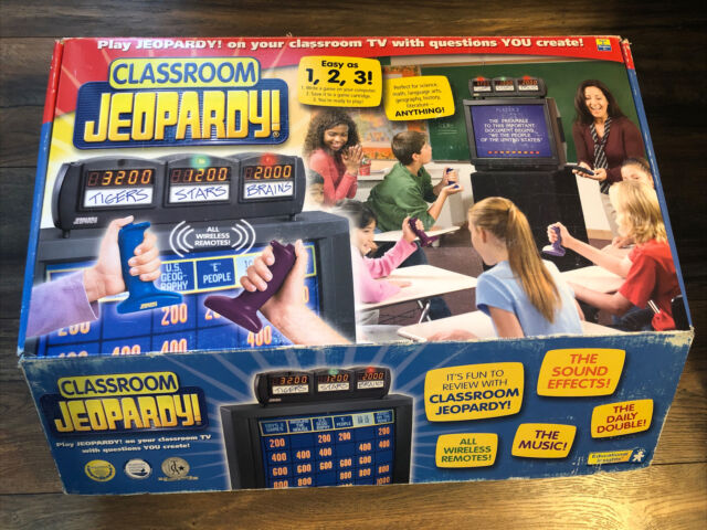 Classroom Jeopardy Educational Insights Game Cartridge Replacements For Sale Online Ebay
