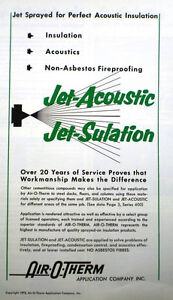 Jet-Sulation-Jet-Acoustic-Catalog-Sprayed-NON-ASBESTOS-Insulation-Air-O-Therm