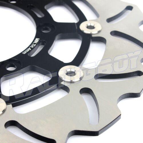 2PCS Front Brake Rotor Disc for Suzuki GSXR 600 750 2008-2015 GSXR1000 2009-2015