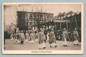 Trained-Nurses-Contingent-034-Florence-Nightingale-034-WASHINGTON-DC-Antique-Parade